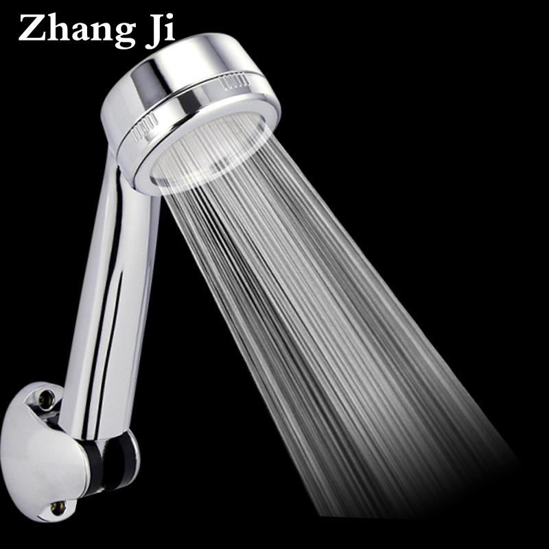 Hot Patented Efficient High Pressure Shower Head Water Saving Massage Nozzle Rainfall Bathroom Shower Head Handheld ZJ008 bathroom water therapy shower anion spa shower head water saving rainfall shower filter head high pressure abs spray zj013