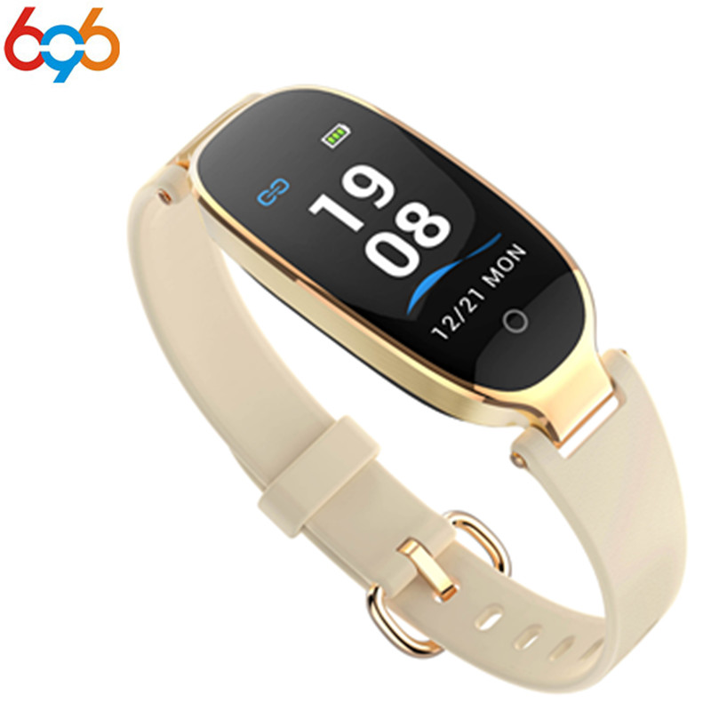 696 S3 Good Wristband Band Shade Display screen Health Bracelet Waterproof Feminine Sports activities Wristband Coronary heart Charge Tracker For Lady Ladies
