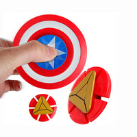 Iron Man Fidget Spinner Creative Hand Spinner Creative Funny Toy Plastic EDC Hand Spiner For Autism