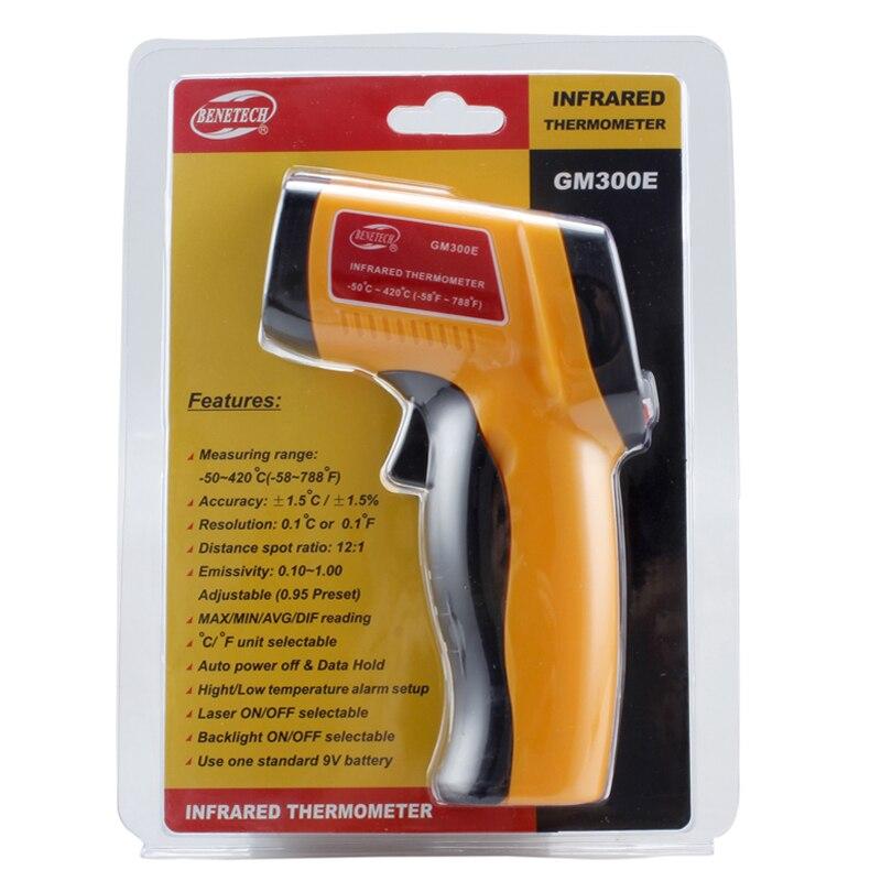 Original GM300E Digital Laser IR infrared thermometer -50~42s