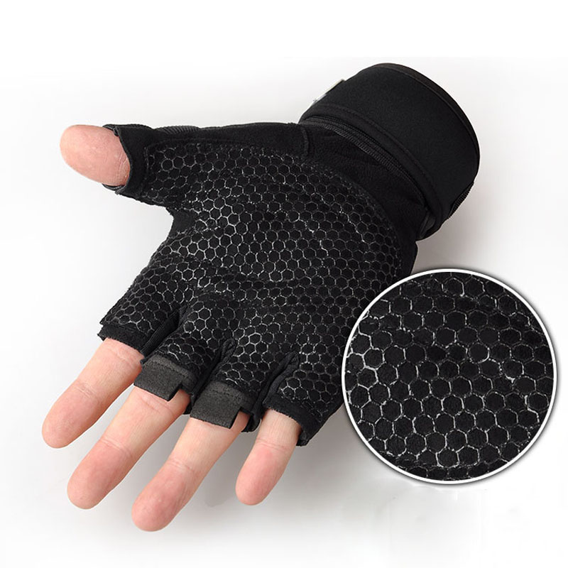 Strong Gym Fitness Gloves Power Luvas Fitness Academia Anti-skid Guantes