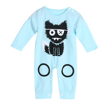 Cartoon Baby Boy Clothes Long Sleeve Baby Rompers Newborn Cotton Baby Girl Clothing Jumpsuit Infant Clothing
