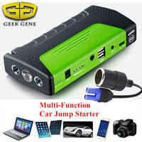 Gasoline Diesel Car Jump Starter Multifunction 52000mAh Mobile Emergency Battery Booster Power Bank SOS Light Free