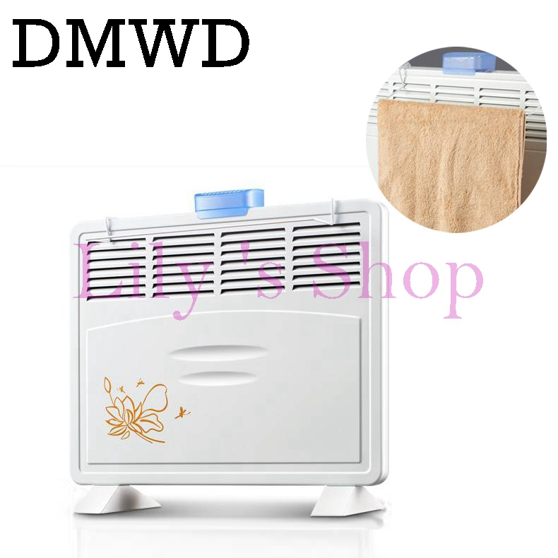 Convection heater waterproof electric heating fan drying cloth clothes dryer with Humidification Electric Air Warmer keep warm dmwd baby clothes drying mini foldable shoes dryer remote cloth warm air machine winter heater warm wind laundry garment blower