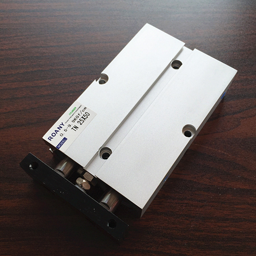 TN25*50 Aluminum Alloy Dual Action Pneumatic Air Cylinder free shipping pneumatic cylinder cdg1bn40 50 air cylinder 5pcs sets free shipping