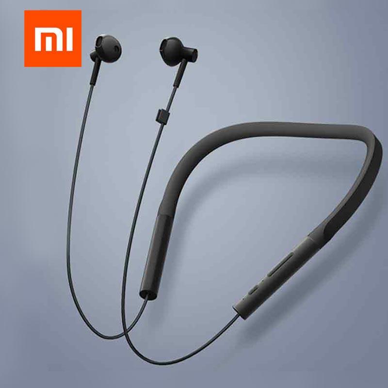 Original Xiaomi Collar Bluetooth Headset Youth Version 2018 New Neckband Sports Earphone Fast Charge Mi Wireless Earphone