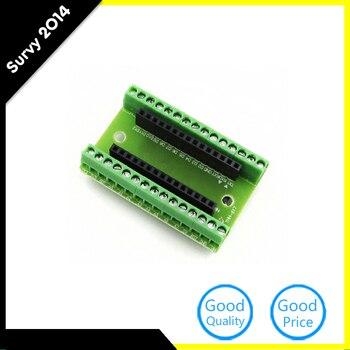Nowy Aririval 1 sztuk standardowy Terminal płytka przyłączeniowa dla Arduino Nano V3.0 AVR ATMEGA328P ATMEGA328P-AU moduł DIY