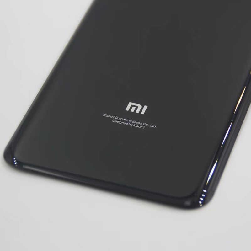 Xiaomi mi 8 mi 8 задняя крышка батарейного отсека задняя дверь Корпус 3D стеклянная панель mi 8 Замена для Xiaomi mi 8 Крышка батарейного отсека, 4 цвета