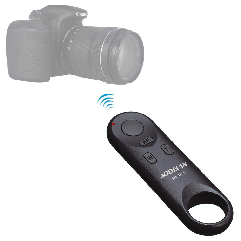 AODELAN Wireless Remote Control BR-E1A for Canon EOR RP, EOS R, M50, 6D Mark II, 77D, 800D, 200D, EOS Rebel SL2, Rebel T7iAODELAN Wireless Remote Control BR-E1A for Canon EOR RP, EOS R, M50, 6D Mark II, 77D, 800D, 200D, EOS Rebel SL2, Rebel T7i