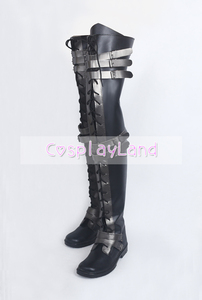 Image 5 - Final Fantasy XV Crowe Altius Cosplay Boots Shoes Anime Halloween Party Cosplay Boots Custom Made for Adult Women Long Shoes