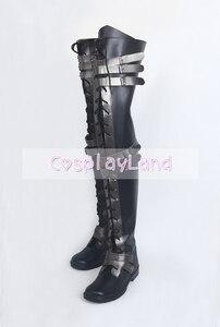 Image 5 - Final Fantasy XV Crowe Altius Cosplay çizmeler ayakkabı Anime cadılar bayramı partisi Cosplay çizmeler Custom Made yetişkin kadınlar için uzun ayakkabı