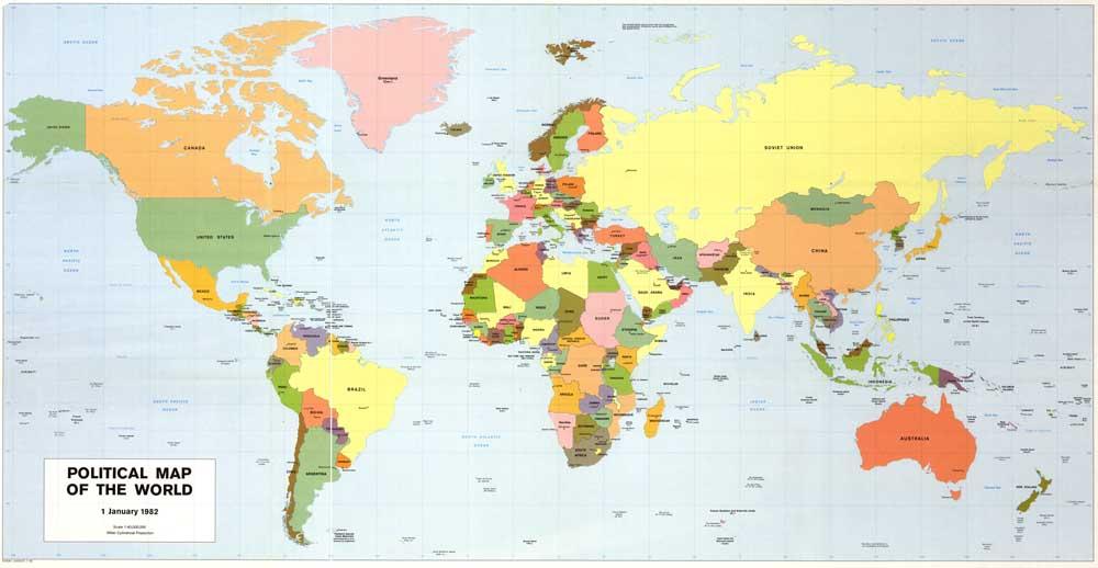скачать карту политическую