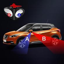 1 pezzo di 360 Gradi Girevole 2 Side Car Blind Spot Specchio Convesso Automibile Esterno Vista Posteriore di Parcheggio Specchio di Sicurezza Accessori