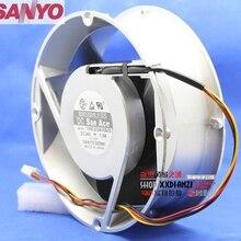 Для Sanyo 109E2024V0S03 20070 20 см 200 мм круглый DC 24 В 1.9A gale алюминиевая рама охлаждающий вентилятор