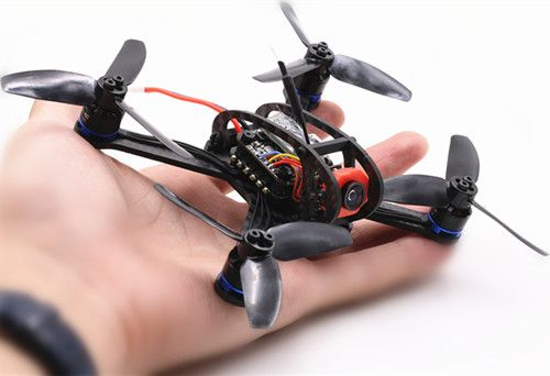 BIFRC X3 130 Mini Racing 4 Axies FPV Quadcopter Drone 2.5mm F3 Dshot600 Brushless ESC con OSD (4)