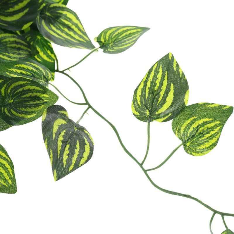 Искусственный арбуз лоза рептилия ящерицы Террариум подъем украшения поддельные листья растений рептилия Декор Аксессуары поставки