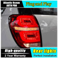 A&T Car Styling for Chevrolet Captiva Taillights 2008-2015 Kaptiva LED Tail Lamp LED Rear Lamp DRL+Brake+Park+Signal led lights
