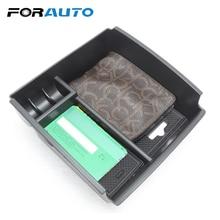 FORAUTO автомобиля организатор подлокотник коробка для хранения Авто Suplies телефон лоток Автомобильный держатель для монет авто аксессуары автомобиль-Стайлинг закладочных уборки