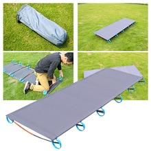 Outdoor Vouwen Bed 200Kg Lager Super Licht Bed Gemakkelijk Installeren Draagbare Vouwen Beweegbare Goede Ervaring Outdoor Camp Hike Bed
