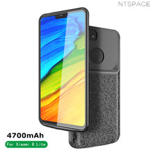 NTSPACE Portable Battery Charger Case For Xiaomi Mi 8 Lite 4700mAh Backup Power Bank