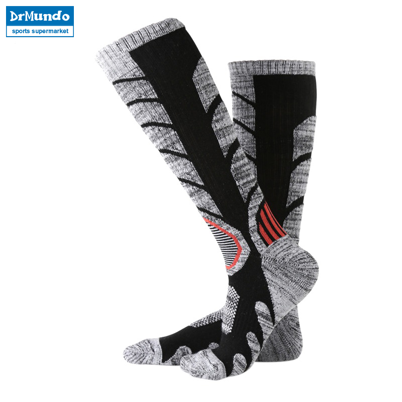 3 pairs Winter Warm Men Women Thermal Ski Socks Thick Cotton Sports Snowboard Cycling Skiing Soccer Socks Leg Warmers Long Socks
