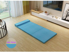 Folding bed sheets simple folding bed siesta bed office lunch break mattress camping folding bed moisture pad(China)