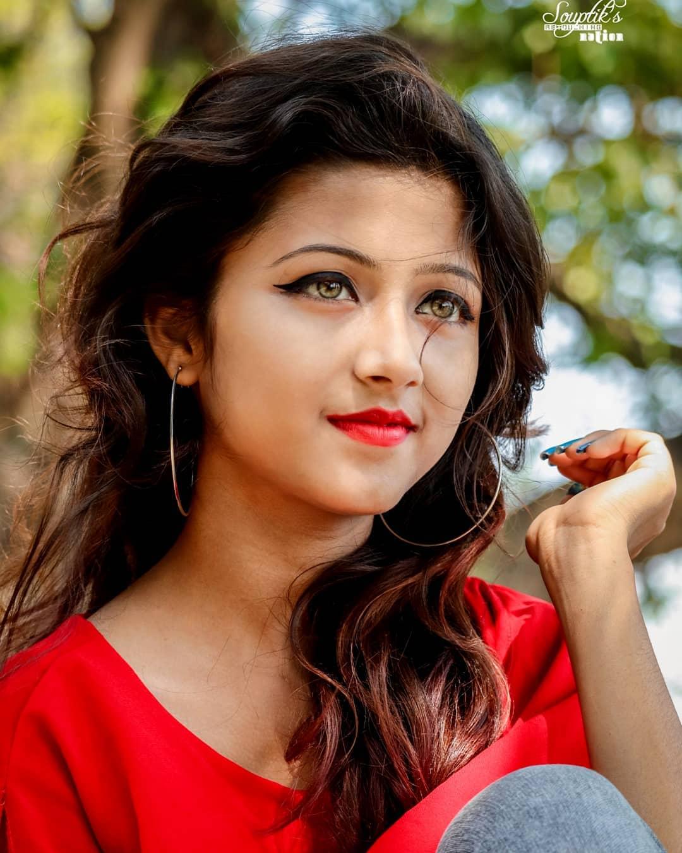 网红印度小姐姐抖音号joyeeta_sanyal 第5张
