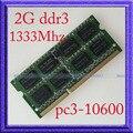 НОВЫЙ 2 ГБ 204PIN DDR3 PC3-10600 DDR3-1333 1333 МГЦ 2 ГБ Памяти Ноутбука RAM sodimm 1333 204-контактный Ноутбука ПАМЯТЬ Обновления бесплатная Доставка