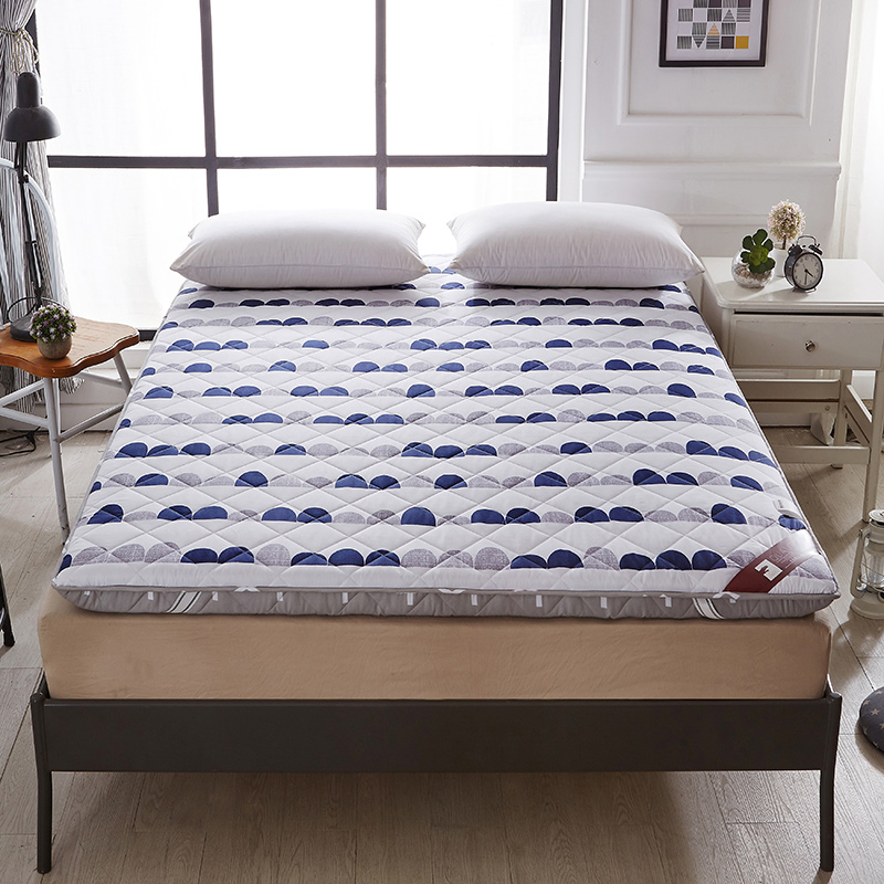 2018 New Arrivals Printing Mattress Fashion Think Warm Comfortable Cotton Mattress Single Double Students Hostel Mattresses