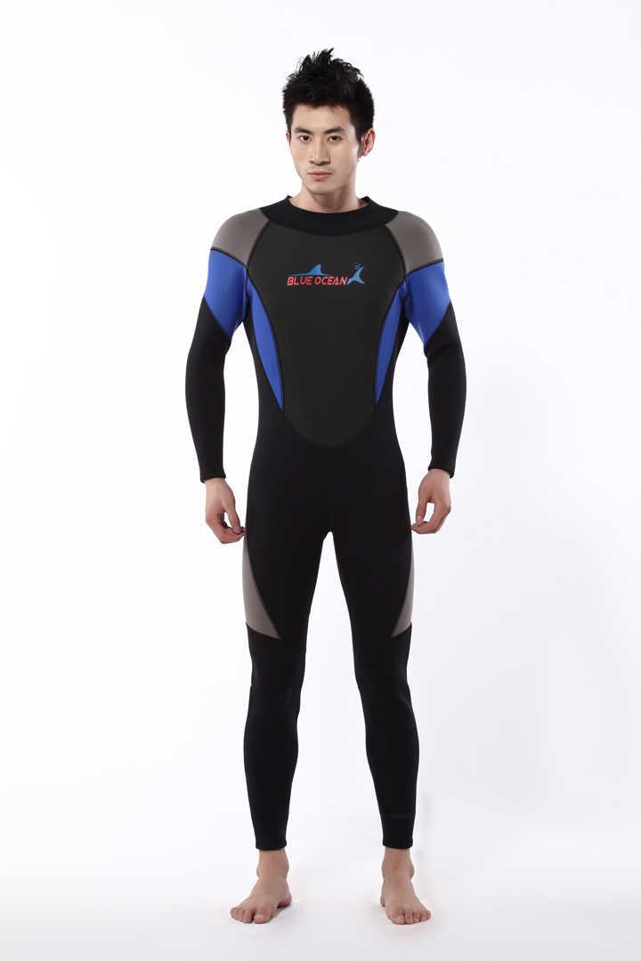Dalış wetsuit 3mm erkekler için suits, neopren yüzme, sörf ıslak elbise, mayo ekipmanları, tulum, tam bodysuit, mayo