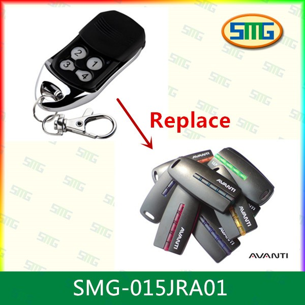 3pcs Avanti Remote Control Garage Door Opener Not Original Remote