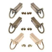 2 боковые металлические зажимы фурнитура застежка аксессуар