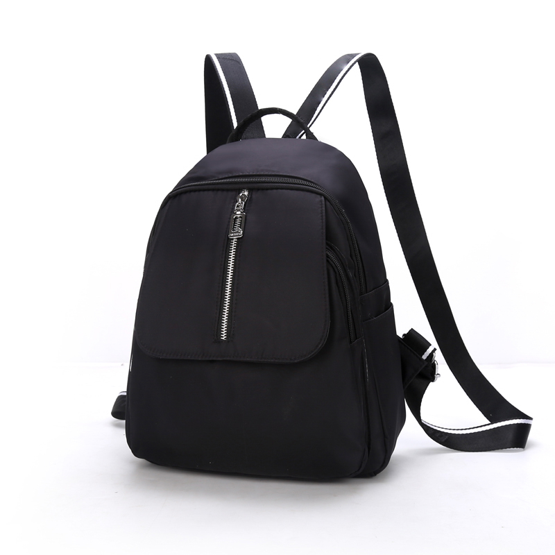 2018 Solid Backpack Girt School Bags For Teenage College Wind Women ... ef54ec1fea2f6