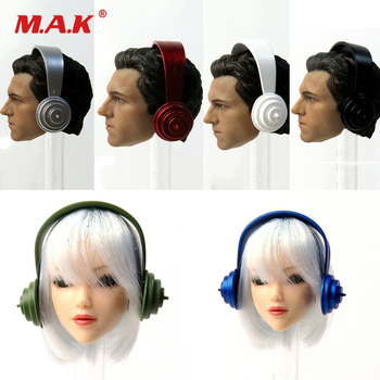 1/6 Scale Figure Scene Accessories Head-mounted Beat Headphone Recorder Model 6 Styles for 12 inches Action Figure