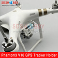 V16 GPS Tracker Holder Support Bracket Fixing Seat for DJI Phantom 3