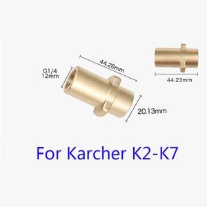 Image 2 - جهاز تنظيف يعمل بالضغط العالي 6m 10m 15m 20 متر 160bar المجاري استنزاف المياه تنظيف خرطوم ل كارشر K1 K2 K3 K4 K5 K6 K7