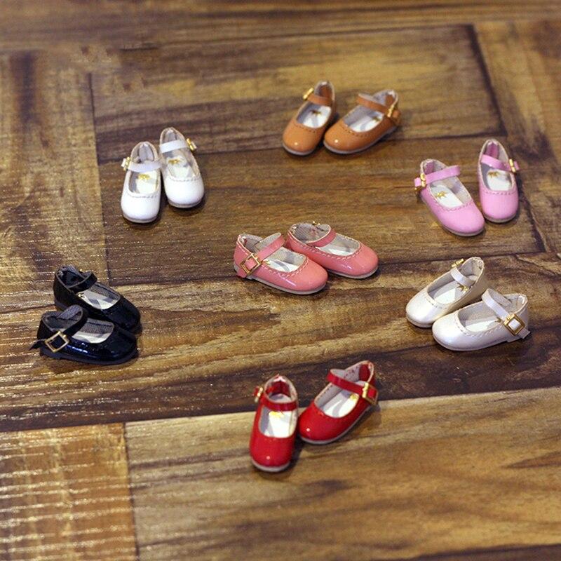 1 пара классических высоких топов, кукольная обувь Blyth, кожаная обувь для девочек ручной работы, аксессуары для кукол, подходят для кукол Icy,...