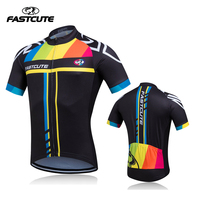 FASTCUTE 2016 Breathable Cycling Jersey Summer Mtb Bicycle Short Clothing Ropa Maillot Ciclismo Sportwear Bike Clothes