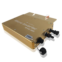 Barato Impermeable IP65 Solar 300 W de salida AC120V 230 V cuadrícula Micro Inversor de 300 vatios
