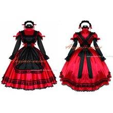 karnawał sukienka czerwona zapinany
