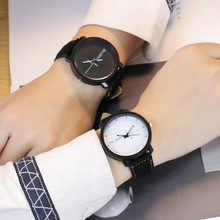 Hot Fashion Couples watch Women Men Casual Leather Dress Sport Wrist Watches Mens Womens Quartz Watch Clock relogio feminino