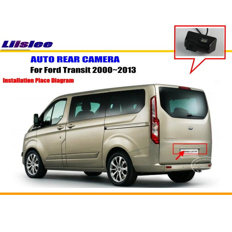 liislee for ford transit 2000~2013 - rear view camera / back up park camera