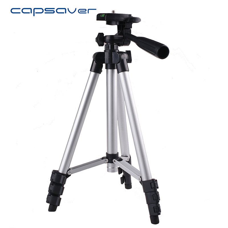 capsaver Universal Portable Lightweight Camera Tripod Stand Holder Cellphone Smartphone Camera Tripod for Canon Sony Nikon
