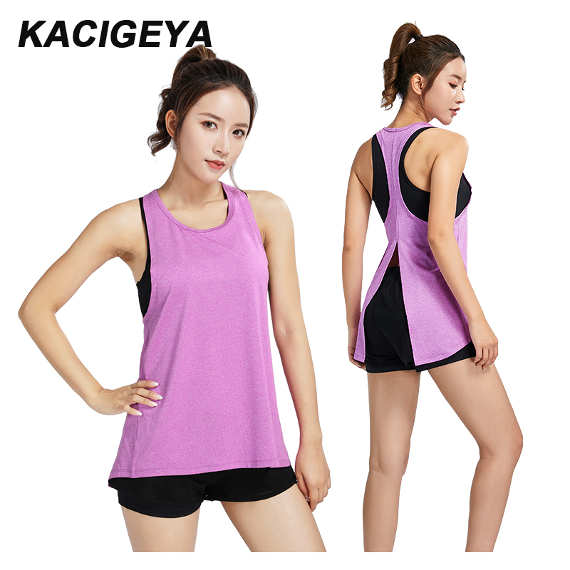 Women Gym Tshirt Quick Dry Mesh Sport Vest Workout Running Yoga Clothes Summer 2019 New Top Woman Slim Sleeveless Shirts