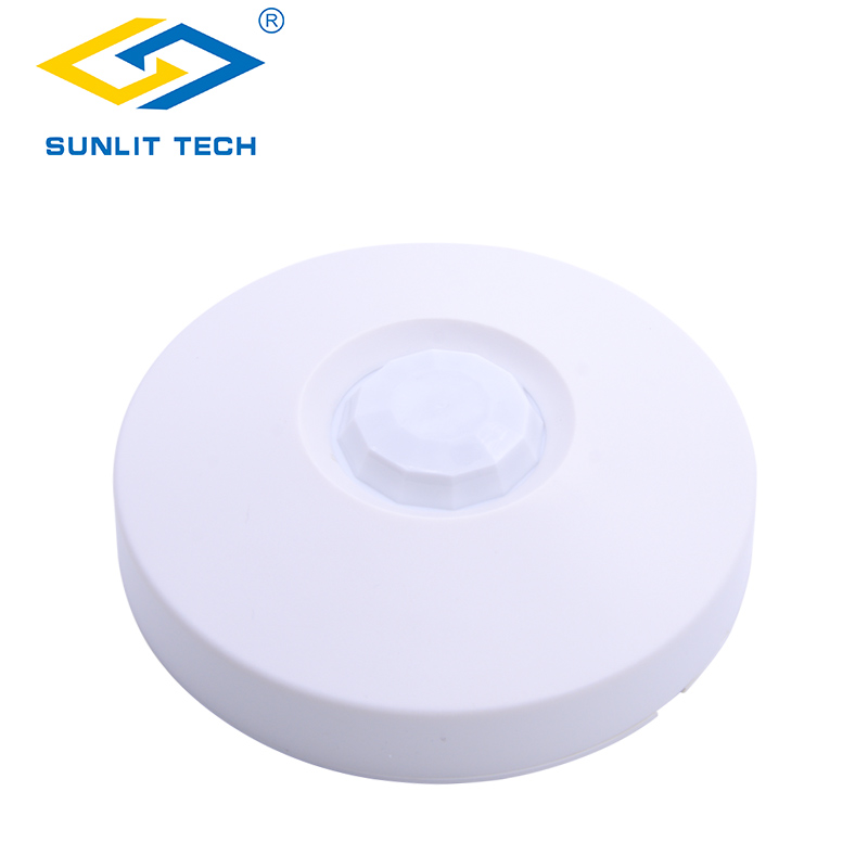 Wired 360 Degree Detection Ceiling PIR Sensor Infrared Motion Detector NC/NO Output for Burglar Alarm Home Security System