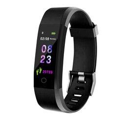 Intelligente Wristband inseguitore di fitness Health Watch banda di frequenza cardiaca Misuratore di Pressione Sanguigna Intelligente Impermeabile Del Braccialetto per Gli Uomini Le Donne Smartband