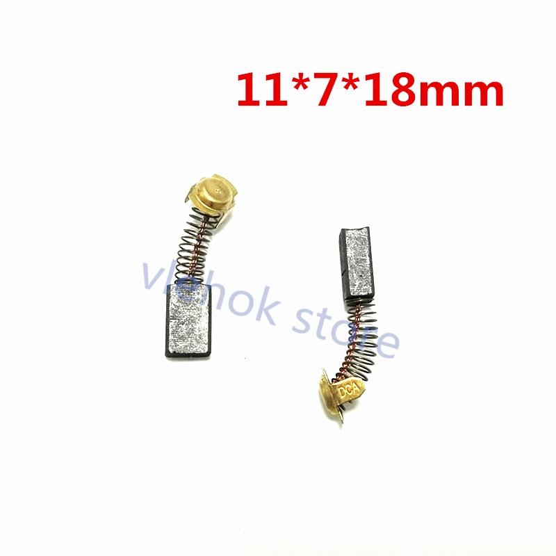 Carbon Brushes For HITACHI C7ST C7SS CTMFA C6UY C6U2 C6SS C5YC C5YA C8FC C7UY C7U2 C10FS C10FSB C10FSH C7SA C7SC C8FB C8FB2 43