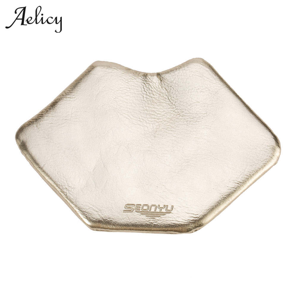 Aelicy Luxury Leather Lips Make Up Bags Wallet Womens Wallets And Purses Zipper Small Wallets Travel Wallet Card Holder