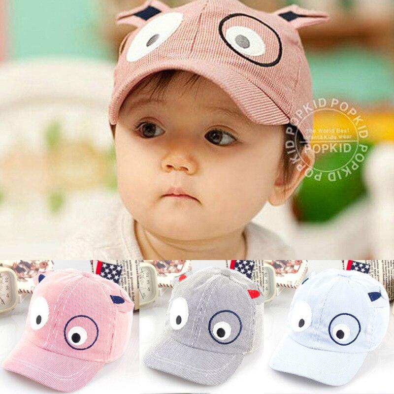 ... del bebé sombreros niños Niños Niñas casquillo recién nacido Gorras de  béisbol boina verano Sol visor gorra Accesorios en Aliexpress.com  45d3284f714