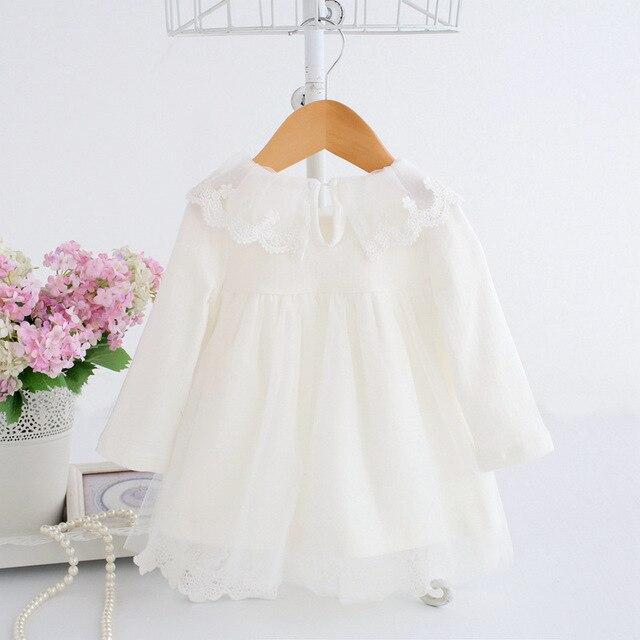 Baby Girl Dress 0-2Y Čipkane svečane haljinice za bebe devojčice 3